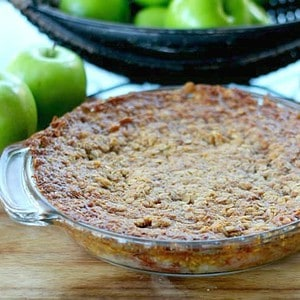 Swedish Apple Pie (aka Apple Crack)