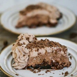 Ultimate Baileys Chocolate Cream Pie