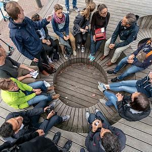 Foto: Wir bilden uns gerne auf Exkursionen, wie hier in Amsterdam, fort, Foto: ver.de landschaftsarchitektur