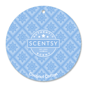 COCONUT COTTON SCENTSY SCENT CIRCLE