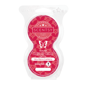 VERY MERRY CRANBERRY SCENTSY POD TWIN PACK