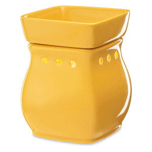 Yellow Classic Curve Scentsy Warmer