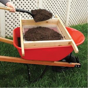 A.M. Leonard Compost and Soil Wheelbarrow