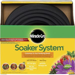 Miracle Gro MGSPAK38100CC Soaker Hose