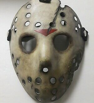Friday The 13th Jason X Halloween Mask Voorhees Hodder Horror
