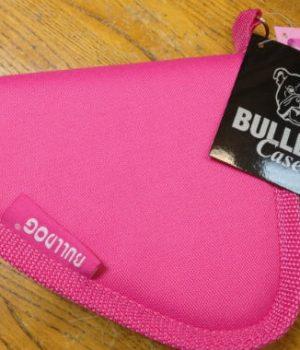 Bulldog Pink X-Small Pistol Rug (BD609P)