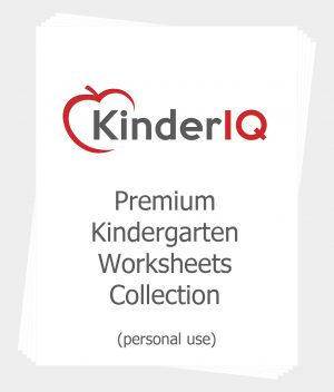 Premium Kindergarten Worksheets Collection for Personal Use