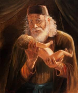 Abraham and his son Isaac