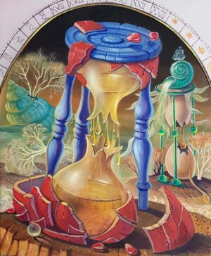 surrealism painting about life