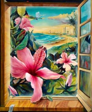 flowers paintings