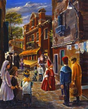 purim painting