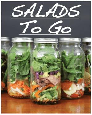 Free Kindle CookBooks _ Salads to Go