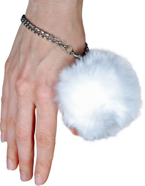 Fur Ball Alarm White On Wrist