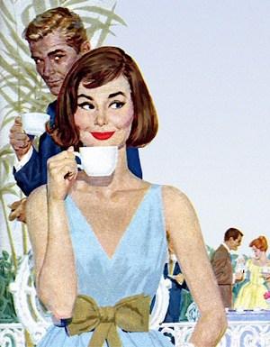 Vintage Chase and Sandborn Coffee Advertisement