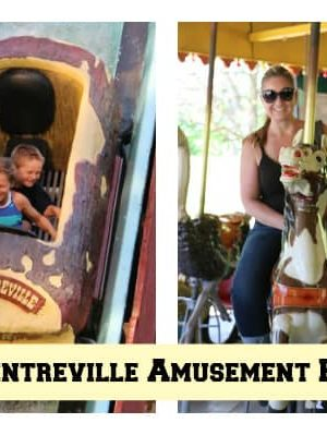 Centreville Amusement Park, Toronto with kids