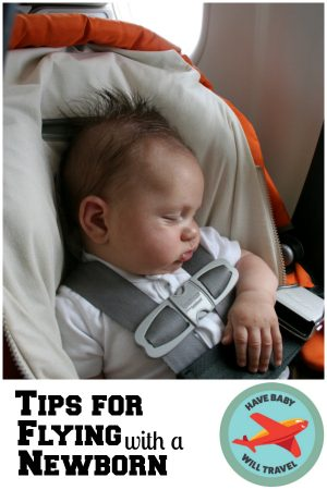flying with a newborn, flying with a baby, flying with a newborn baby, tips for flying with a newborn, tips for flying with a baby