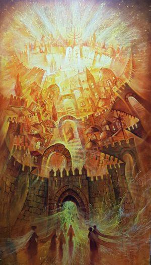 jerusalem modern painting