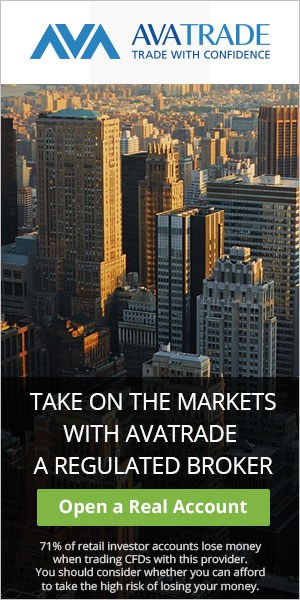 avatrade is regulated broker banner