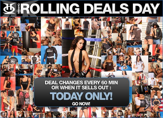 MMAHQ Rolling Deals Day!