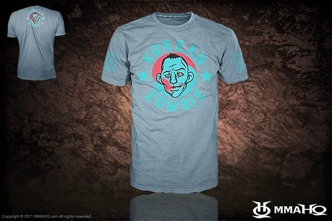 Korean Zombie Shirt for $15.00 on MMAHQ