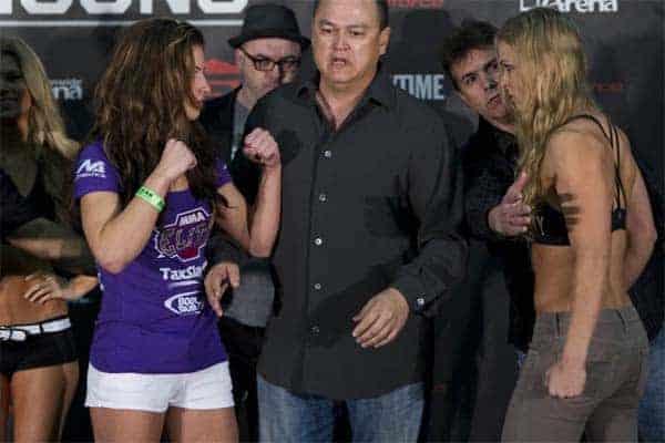 Miesha Tate says Ronda Rousey isn't an MMA fan
