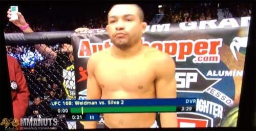 Weird Pic of the Day 2 | UFC 168 | Original Gameboy = Knife?