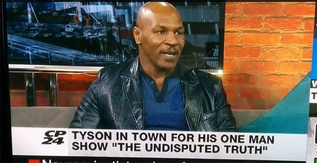 Video: Mike Tyson Going Ape Sh*t on a Reporter