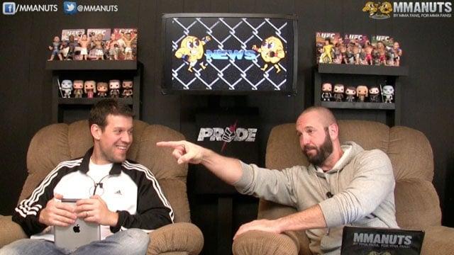 MMANUTS on Cain Velasquez, Cris Cyborg, Rockhold vs Bisping, Shogun, UFC 180 | EP # 220