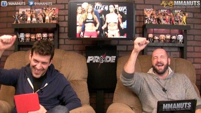 UFC 184 Recap | Ronda Rousey vs Cat Zingano | MMANUTS | EP #234