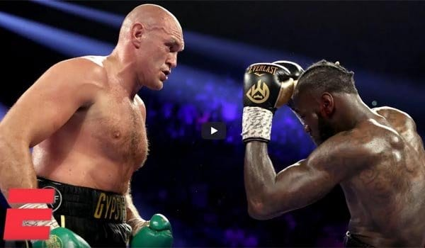 Tyson Fury vs Deontay Wilder 2 Highlights