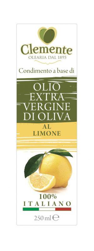 Olio Extravergine 100% Italiano Aromatizzato al Peperoncino - Etichetta Fronte