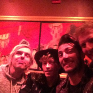 New Politics + Mitch... This was the best we could get.