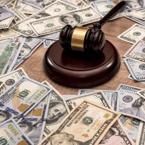 multas de la corte de bancarrota