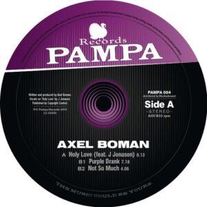 Axel Boman - Holy Love - PAMPA004 - PAMPA