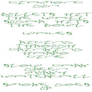 Eliza McCarthy/Mica Levi - Slow Dark Green Murky Waterfall - SLP036 - SLIP