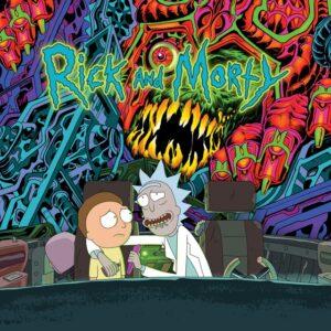 Rick & Morty - Rick & Morty Soundtrack - SP1265 - SUB POP