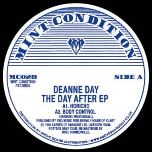 Deanne Day/Andrew Weatherall - The Day After EP - MC028 - MINT CONDITION
