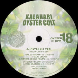 A Psychic Yes - Maze Dream EP - OYSTER18 - KALAHARI OYSTER CULT