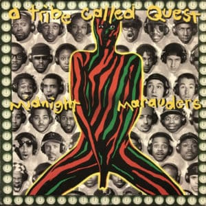 A Tribe Called Quest - Midnight Marauders - 0012414149015 - JIVE