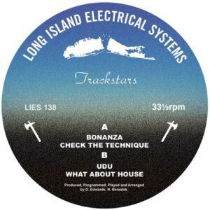 Trackstars/Delroy Edwards/Benedek - Untitled - LIES138 - L.I.E.S.