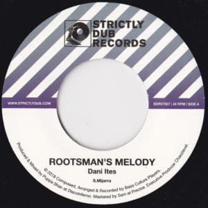 Dani Ites/Bass Culture Players/Puppa Shan - Rootsman's Melody - SDRV7007 - STRICTLY DUB RECORDS
