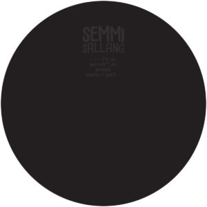 Anoesis - Silver Mirrors Of Her Eyes - SESA001 - SEMMI SALLANG