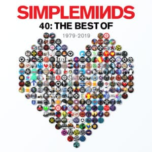 Simple Minds - 40 THE BEST OF  1979 – 2019 Coloured - 602577998881 -