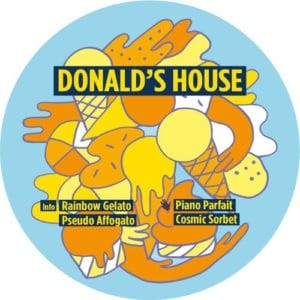 Donald's House - Rainbow Gelato EP - TFAD7 - TOUCH FROM A DISTANCE