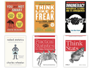 6 data science books