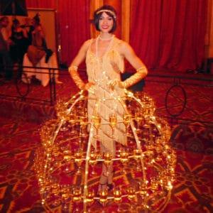 Robe à Champagne Casino Deauville
