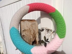 chevron wreath