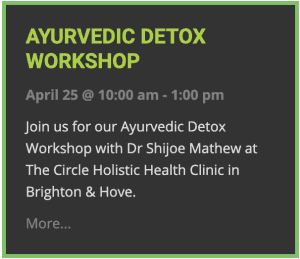 Ayurvedic Detox Workshop
