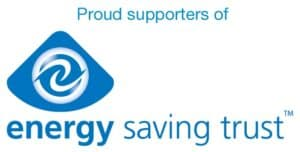 proud suppliers of Energy Saving Trust
