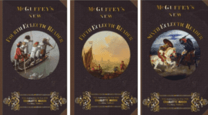 1857 McGuffey Readers Set of 4, 5, and 6 with instructions for use with Charlotte Mason methods.